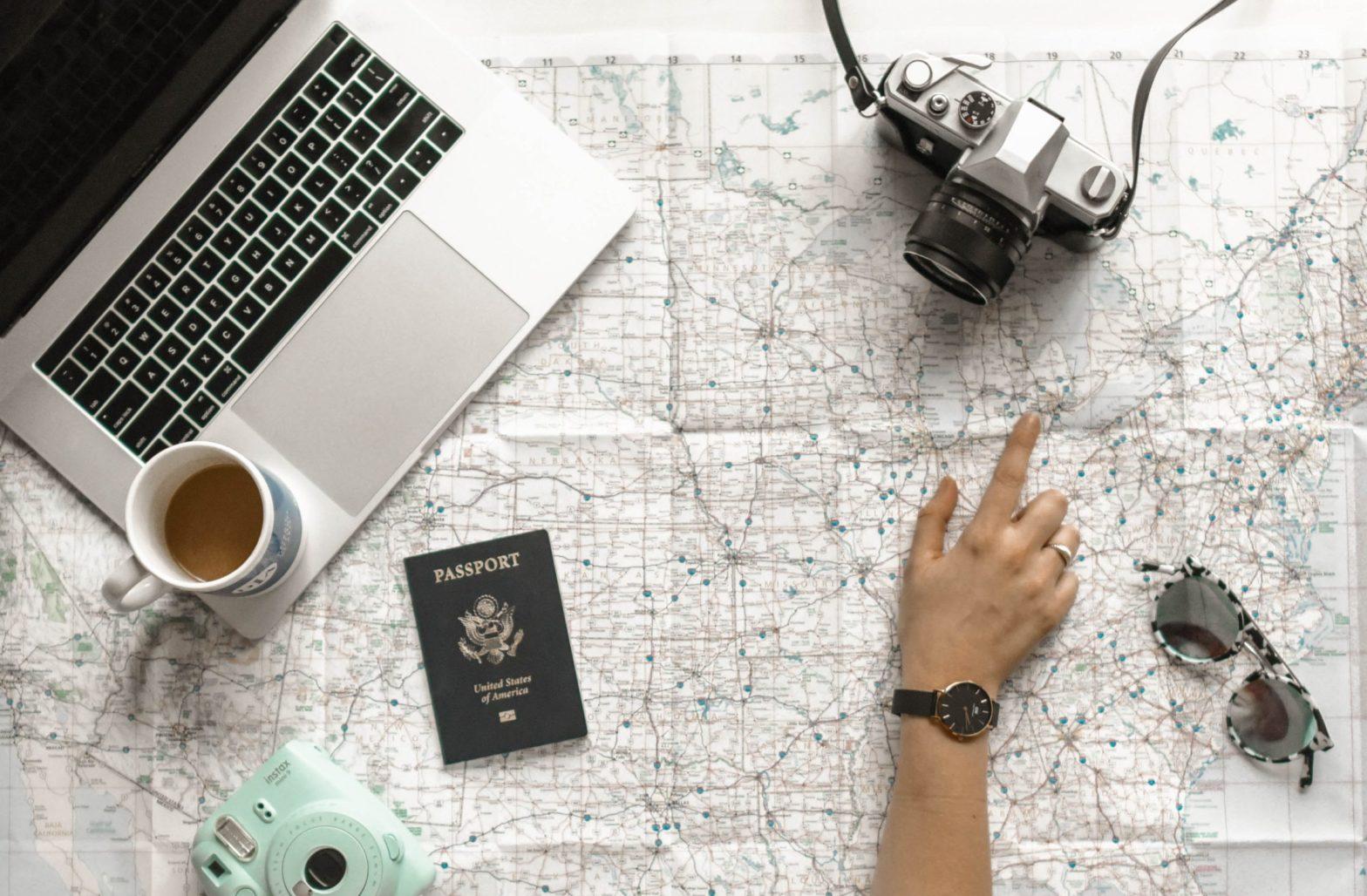 Passeports internationaux. Julien Manival. Miami USA.