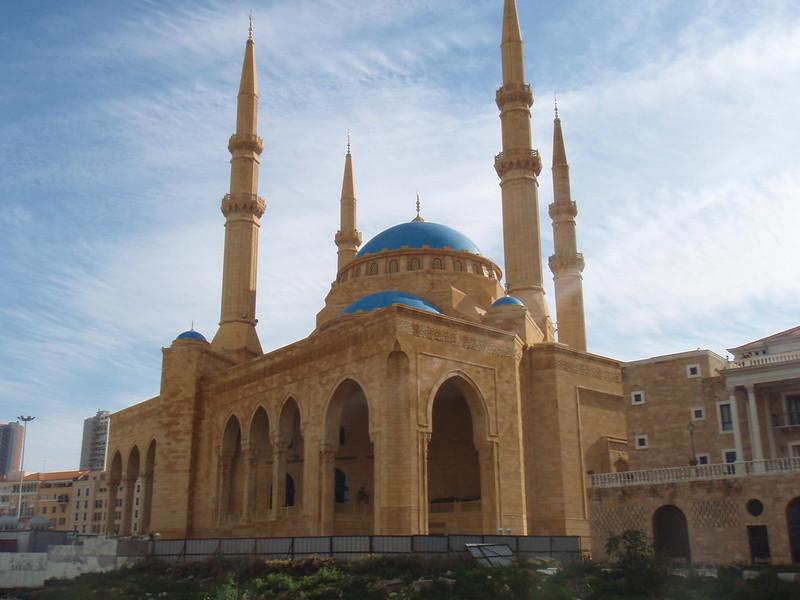 Découvrir Beyrtouh : mosquée al omari. Julien Manival